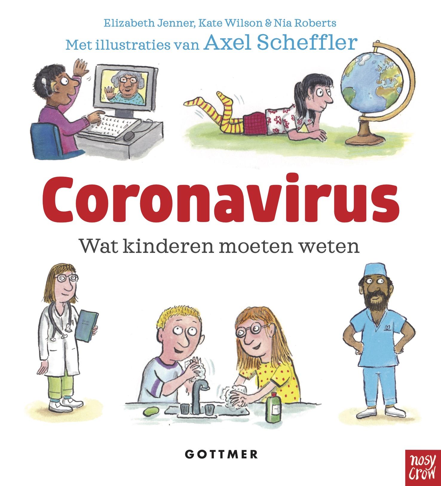 Gratis kinderboek over coronavirus